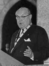 Paul Henri Spaak 1957