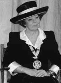 Queen Beatrix of the Netherlands 1996