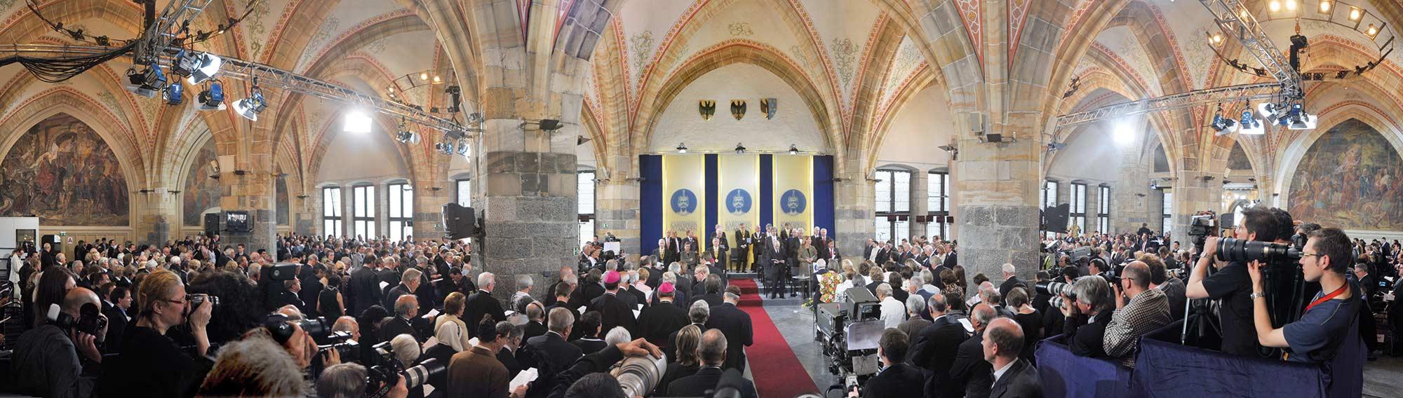 Karlspreis Aachen 2021